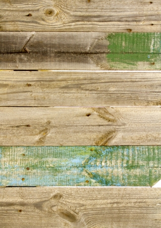 Close up of an old wooden fence panels Stock Photo - 23142292