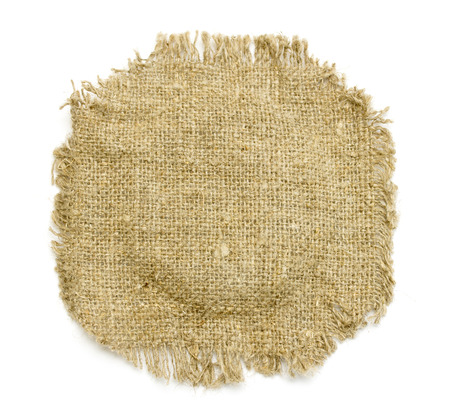 fibra: burlap canvas Stock Photo