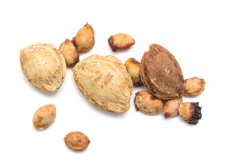 apricot kernel: a heap of apricot pits