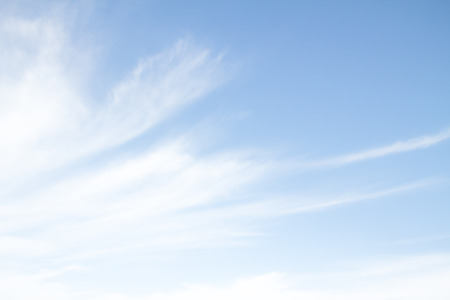 haze of cirrus clouds in the sky