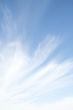 cirrus: haze of cirrus clouds in the sky