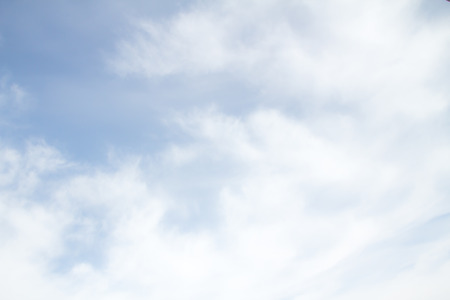 stratus: haze of cirrus clouds in the sky