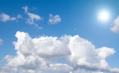 sun sky: sun sky clouds