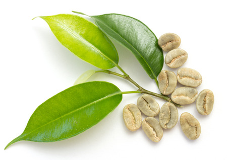 coffee beans, green photo
