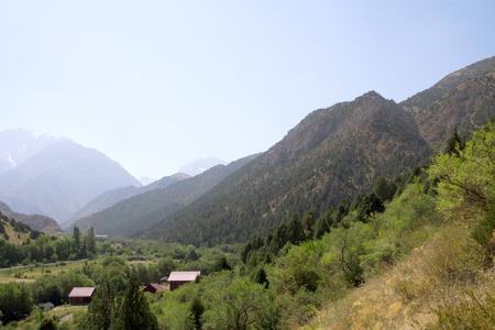 background mountains nature landscape summer photo