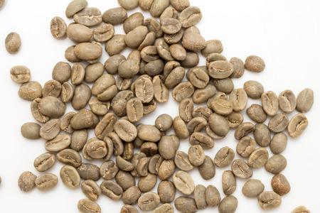 unroasted: unroasted coffee beans