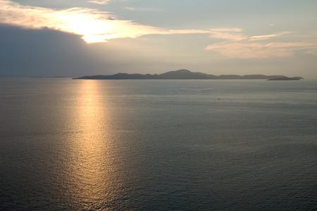 sky  sea: sera tramonto cielo sole mare Archivio Fotografico