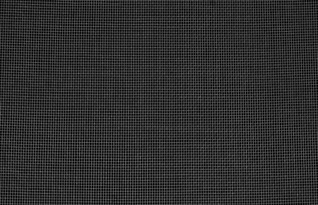 ebon: net square on a black background Stock Photo