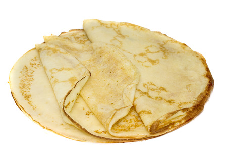 round: pancake round Stock Photo