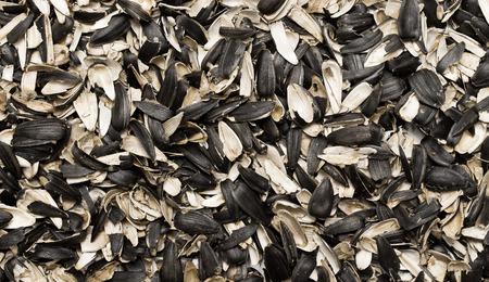 husks: Sunflower seed husks