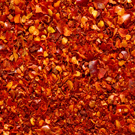 pepper flakes: ground red chili background