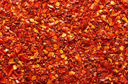 ground red chili background