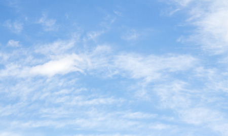 cirrus clouds: cirrus clouds in the blue sky Stock Photo