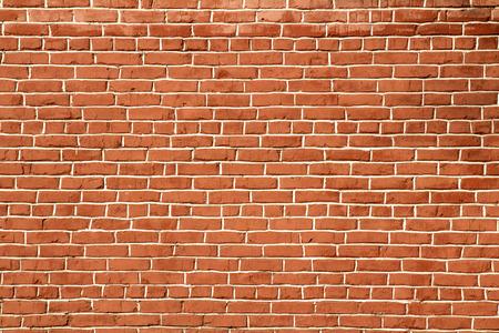 textura: parede de tijolo vermelho fundo