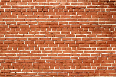 clay brick: red brick wall background