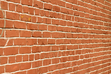 red brick wall: red brick wall background