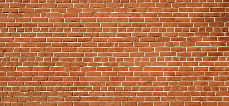 exterior wall: red brick wall background