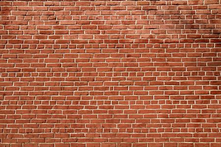 赤レンガの壁の背景