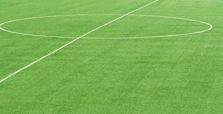 緑のサッカー フィールド