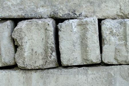 cornerstone: Concrete block