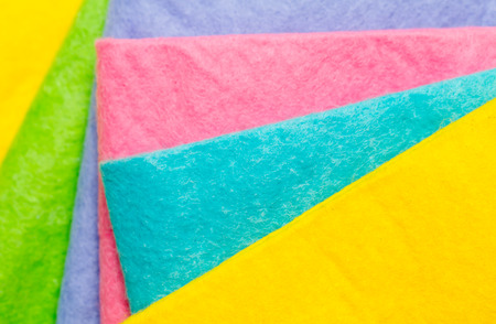 terry: Terry towels of different colors