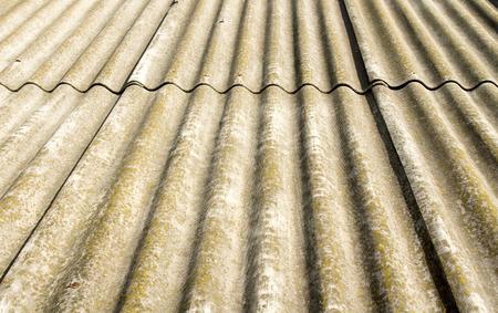 slate roof: Old slate roof