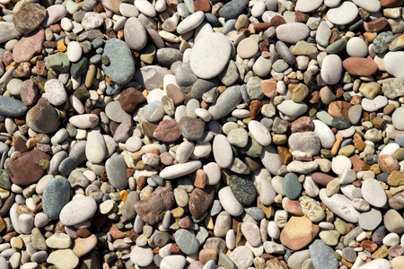 nice: Nice background image of pebbles on a beach