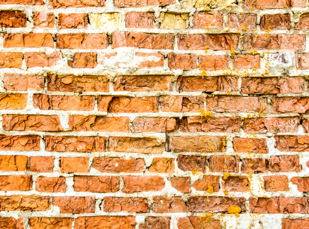 housebreaking: Old brick wall background