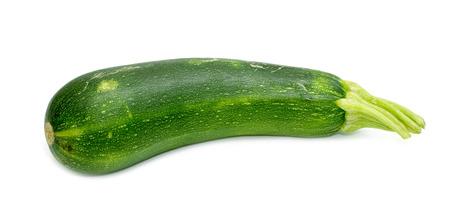 phallic: fresh zucchini isolated on a white background Stock Photo
