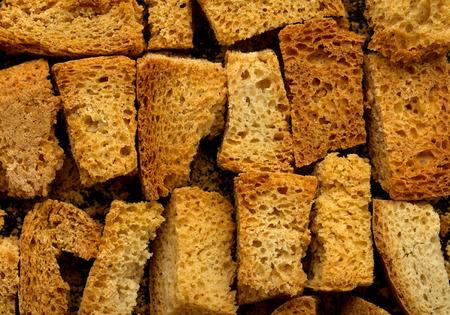 toasted: crispy slices of toasted bread