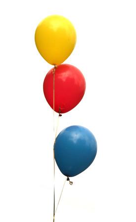 globo: globos en un fondo blanco