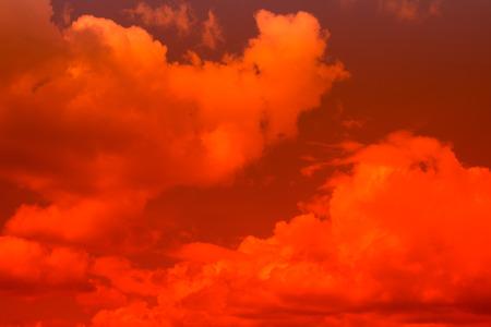 resplandor: Cielo de fuego. Bonito cielo