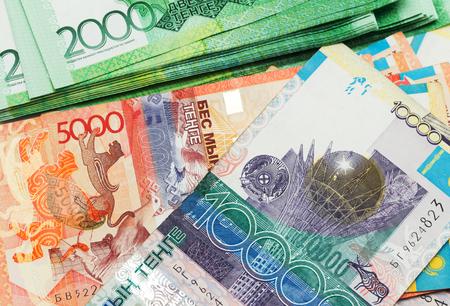 kazakhstan: money of Kazakhstan