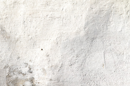 plaster wall: white plaster wall old Stock Photo