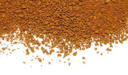 instant coffee: instant coffee powder Stock Photo