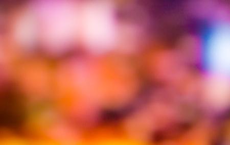 heptagon: Photo of bokeh lights, blurred background Stock Photo