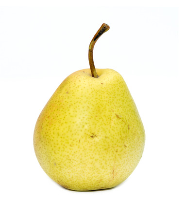healthier: Ripe pears isolated on white background