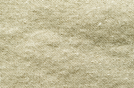 linen fabric: rough linen fabric material rumpled Stock Photo