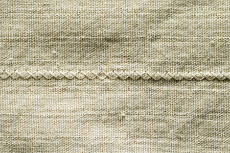 scuff: rough linen fabric material rumpled Stock Photo