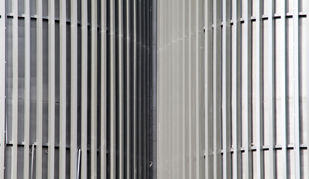 corrugation: Zinc metal fence background