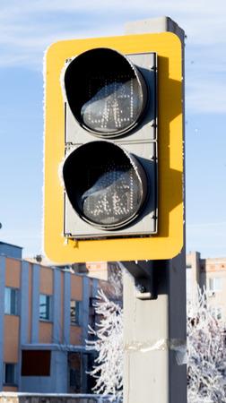 onwards: traffic on the street Stock Photo