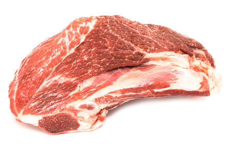 horse meat: piece of raw meat horse meat