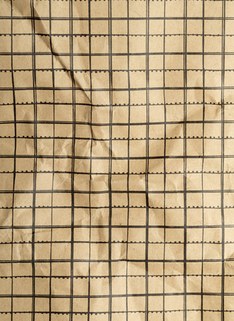 creasy: squared paper crumpled background