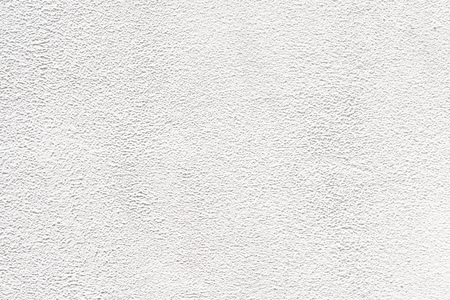 Zement-Putz Wand weißem Hintergrund Standard-Bild