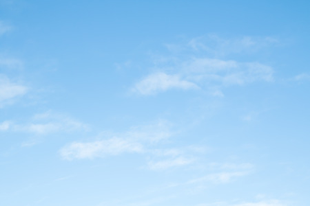 cirrus clouds: cirrus clouds on a blue cloud Stock Photo