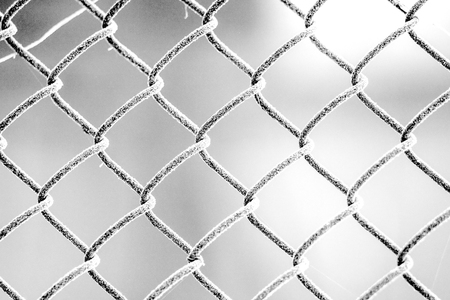wire fence: Wire fence and snow texture.