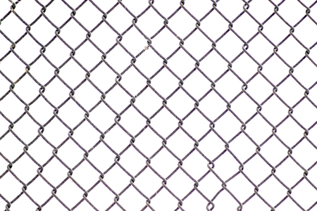 snow texture: Wire fence and snow texture.