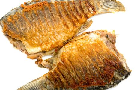 food, fried fish closeup Imagens