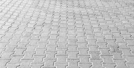paving: paving the prospect, street scene Stock Photo