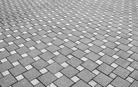 prospect: paving the prospect, street scene Stock Photo